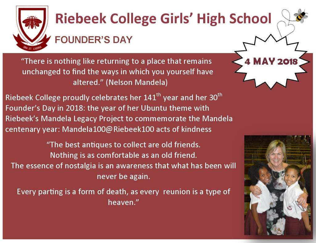 Founders day 2018 riebeek college girls high school uitenhage founders day promo10111 m4hsunfo
