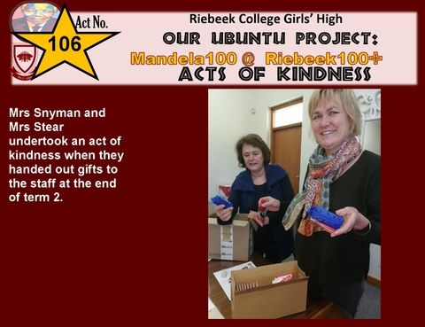 acts of kindness 106
